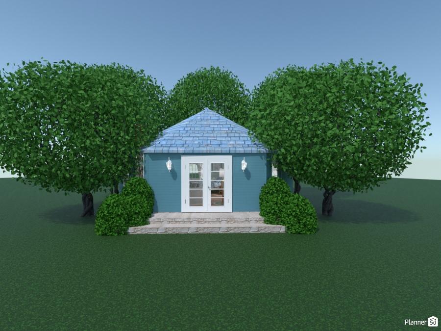 Hexagonal Lodge In The Woods Ideas Para Apartamentos