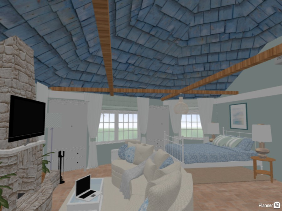 hexagonal lodge near the sea 75581 by Chiara Meazza image