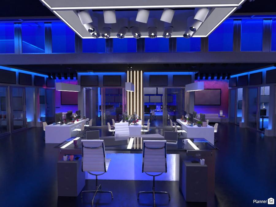 Newsroom -- Television Studio 3294250 by Aquiles Damiron image