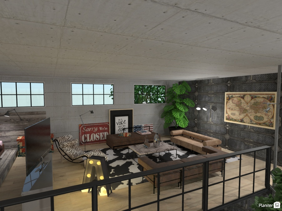The Lars's Loft: Mezzanine 2542944 by Micaela Maccaferri image