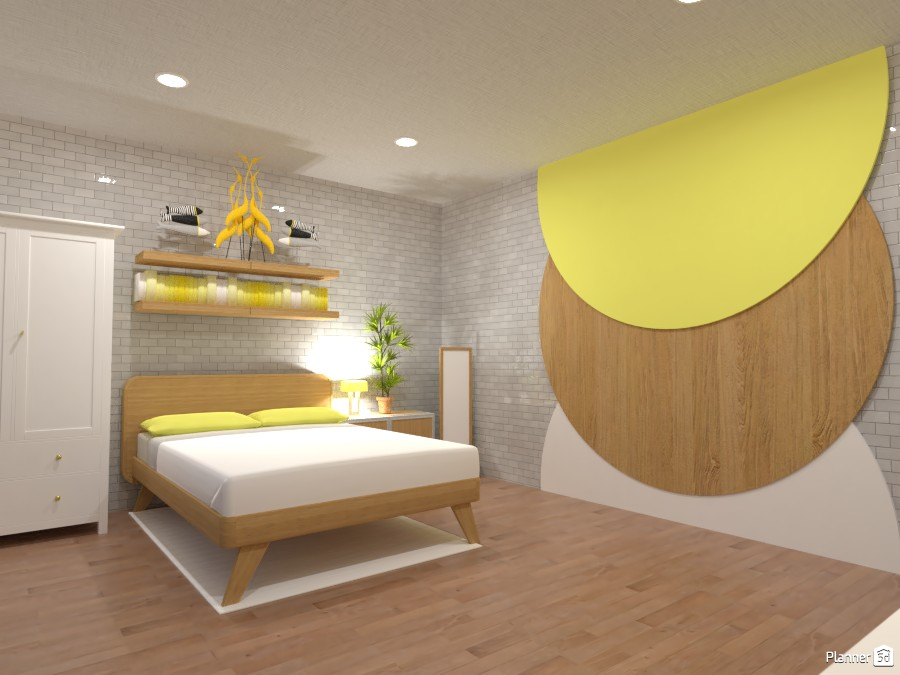 Yellow bedroom 3778640 by Doggy image