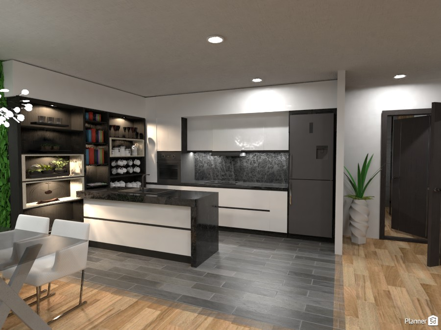 Open plan kitchen 3436108 by Didi image