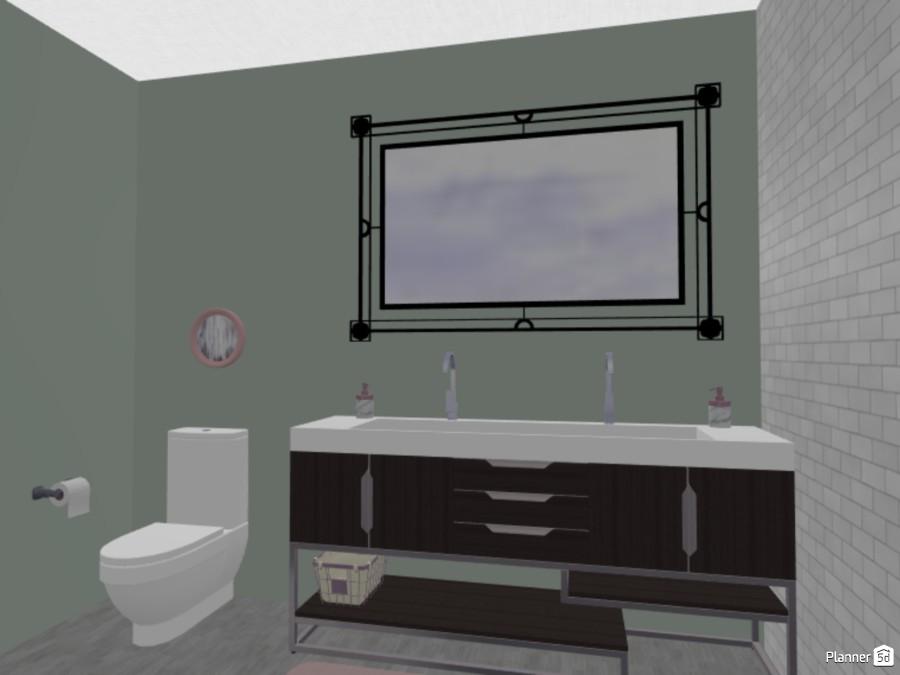 pastel pink bathroom 80517 by Allison image