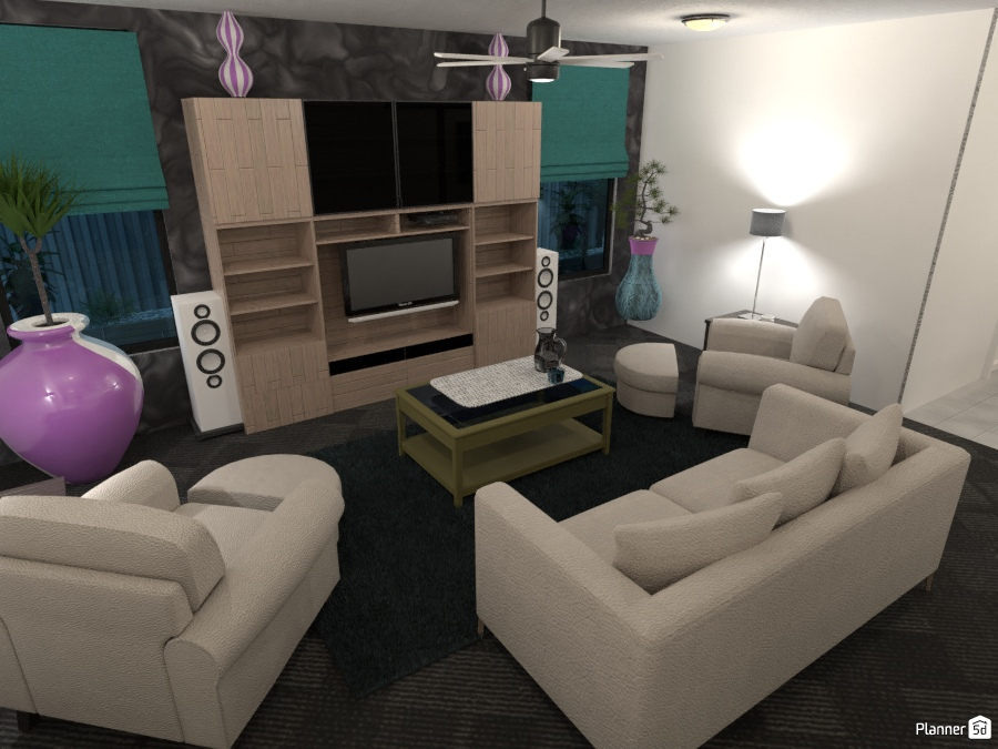 Lounge and entertaining - Furniture ideas - Planner 5D