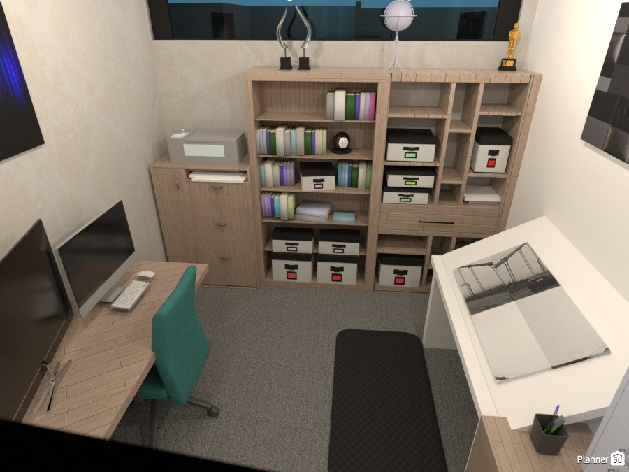 study and art room house ideas planner 5d