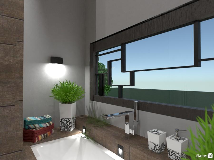 Pop Art Modern Bath: Cozy Corner 3000399 by Moonface image