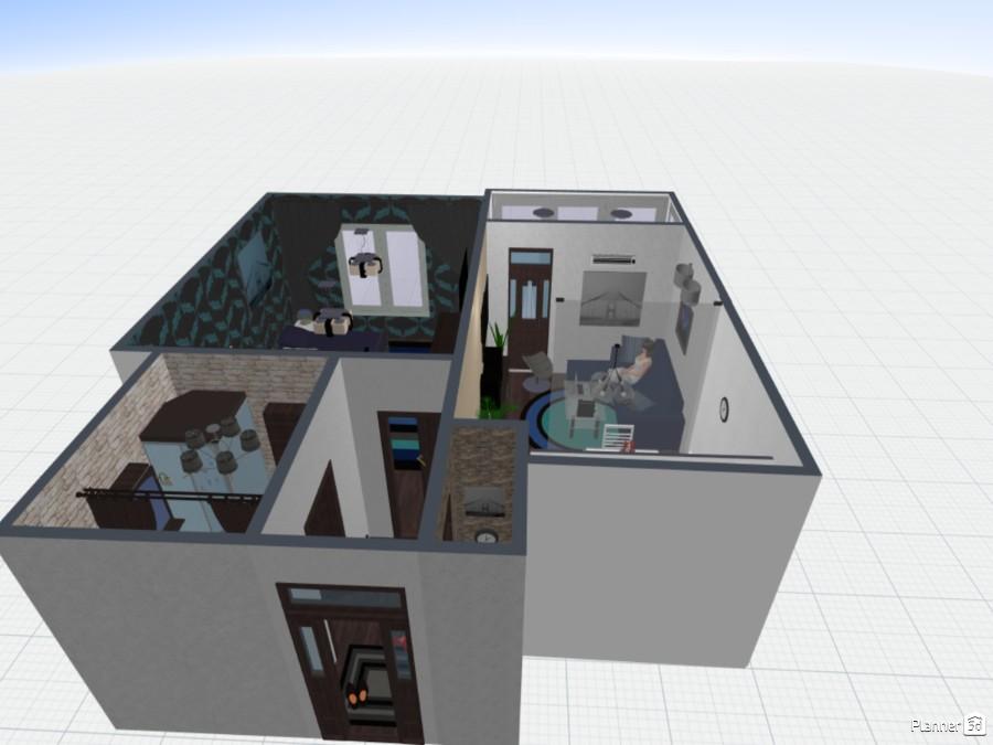 Дизайн квартиры 45 кв/м 73915 by El Be image
