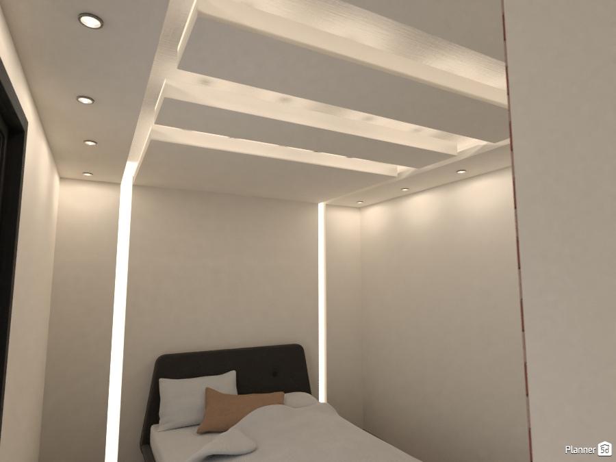 Gypsum board design bedroom ideas planner 5d for Gypsum board decoration ideas