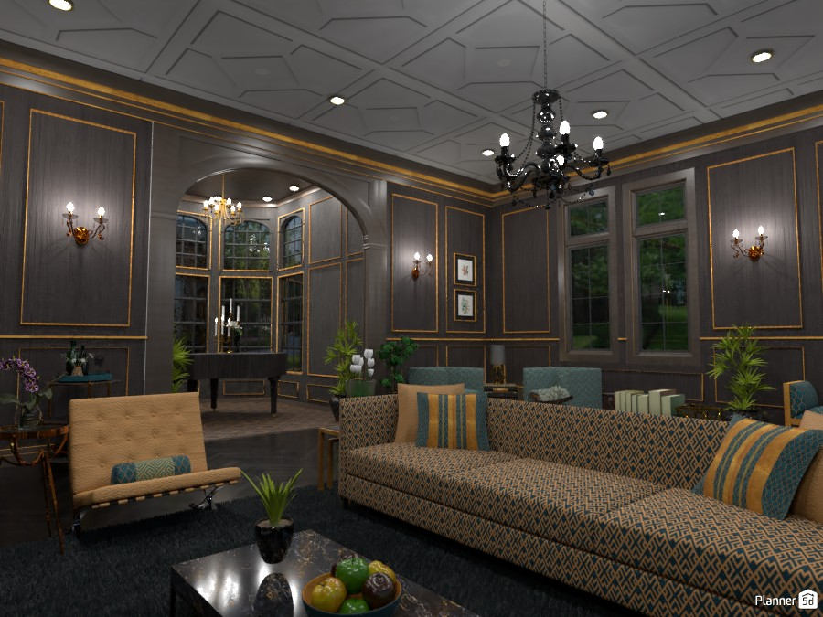 Upscale Great Room 3850086 by DesignKing image