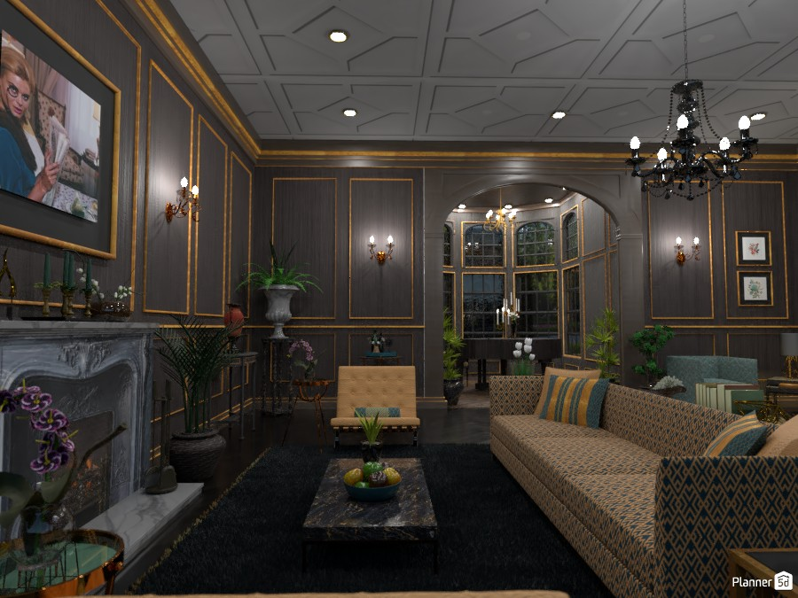 Upscale Great Room 3850127 by DesignKing image