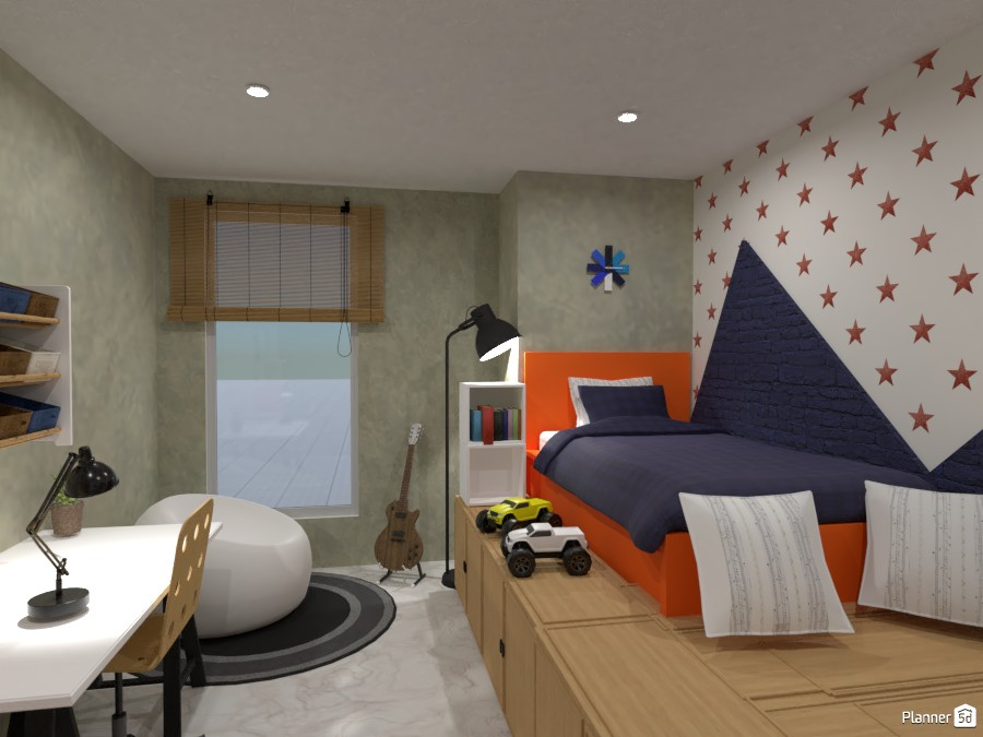 a bright Boys bedroom 4028148 by Born to be Wild image