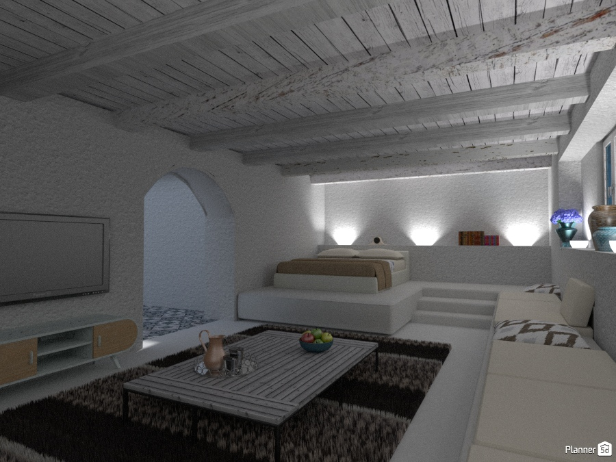 Masseria in Puglia: Angolo del riposo - House ideas - Planner 5D