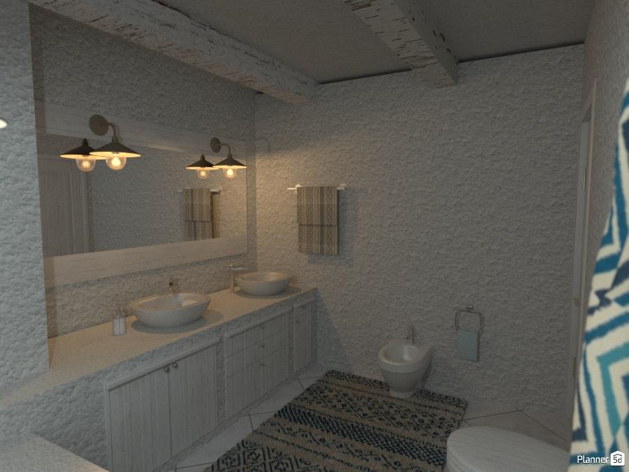Masseria in puglia bagno 1 house ideas planner 5d - Planner bagno 3d ...