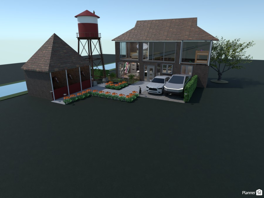 Farm House 4194669 by Arin image