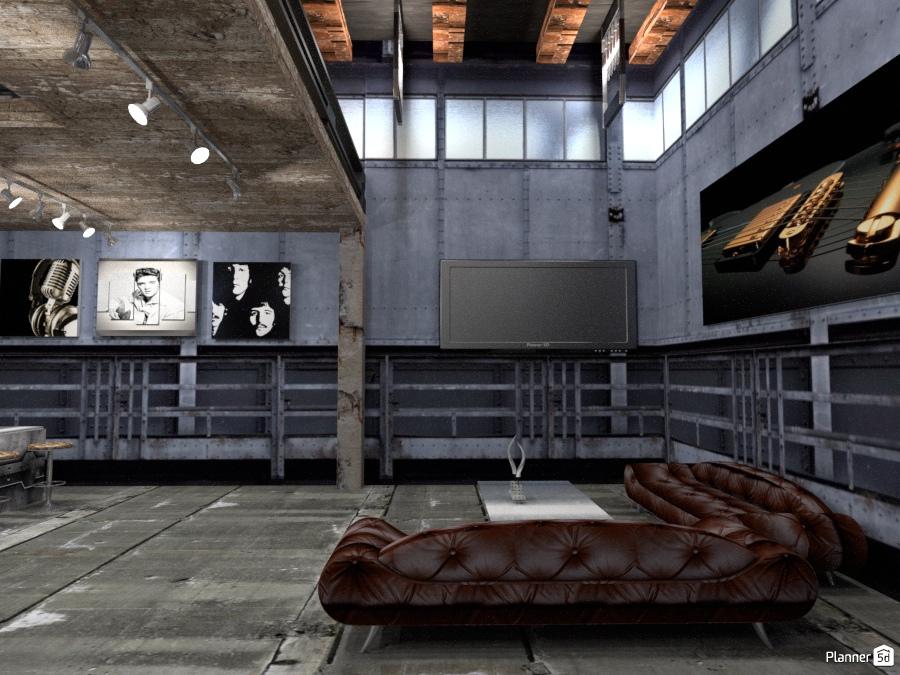 Hard loft idee per appartamenti planner d