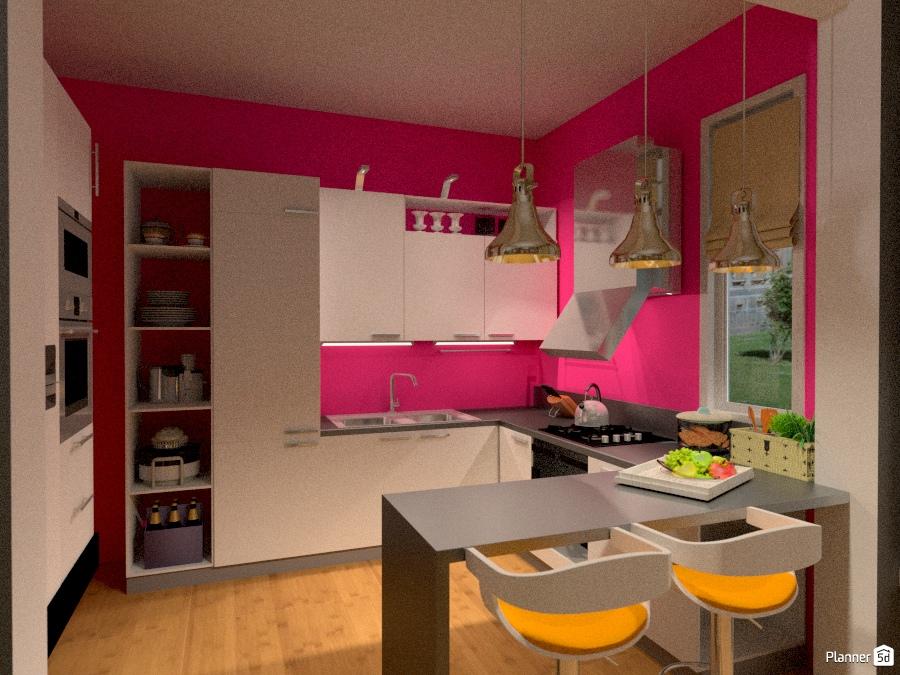 Amsterdam (cucina) - Idee per appartamenti - Planner 5D