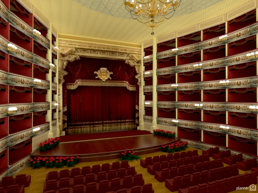 Teatro alla Scala di Milano 1148150 by Svetlana Baitchourina image