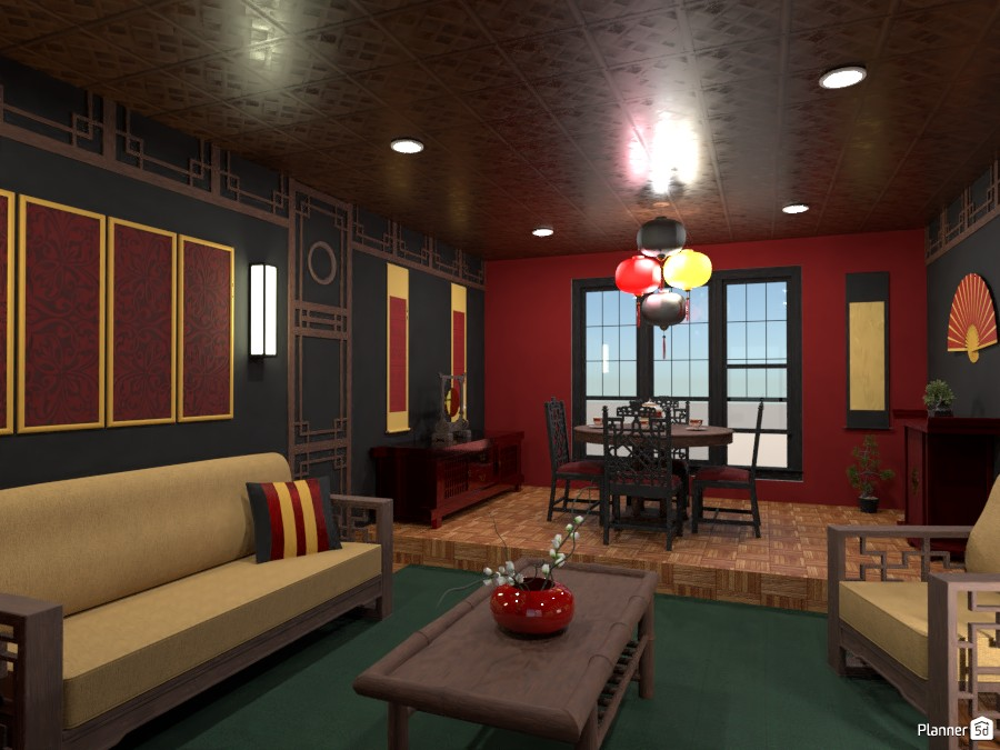Contest: Chinese interior style 4008849 by Elena Z image