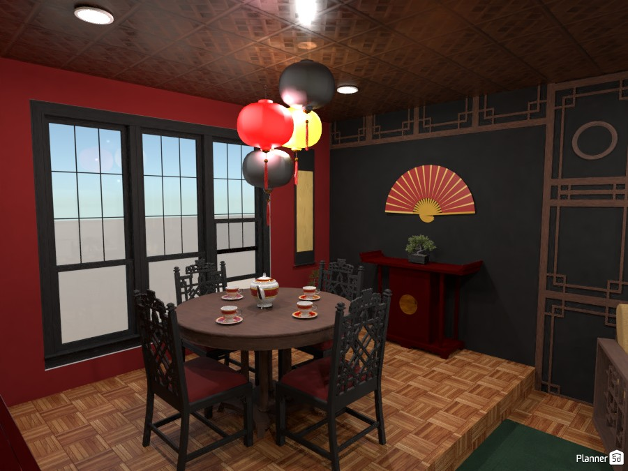 Contest: Chinese interior style II 4008826 by Elena Z image