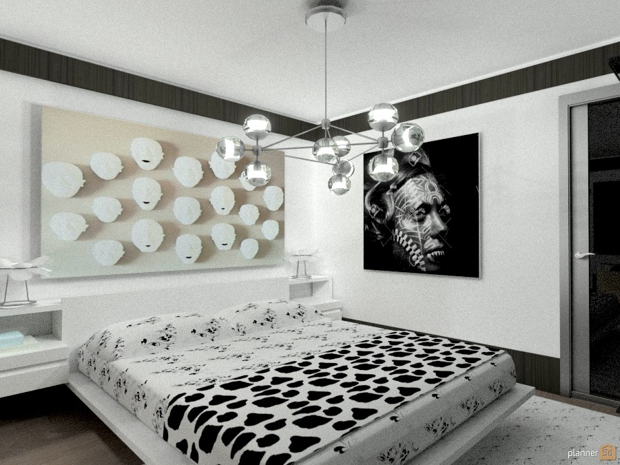 Tribal bed from