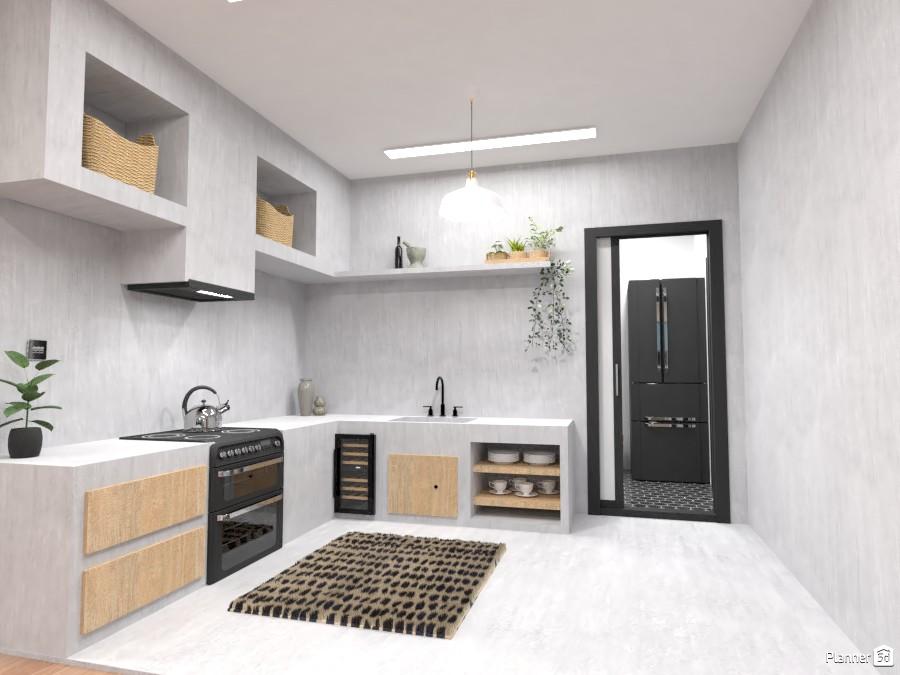 Concrete Kitchen 4328586 by Ana G image