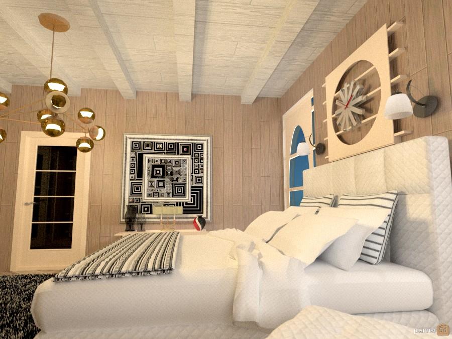Bungalow con Padiglione e Piscina: bedroom 974355 by Micaela Maccaferri image