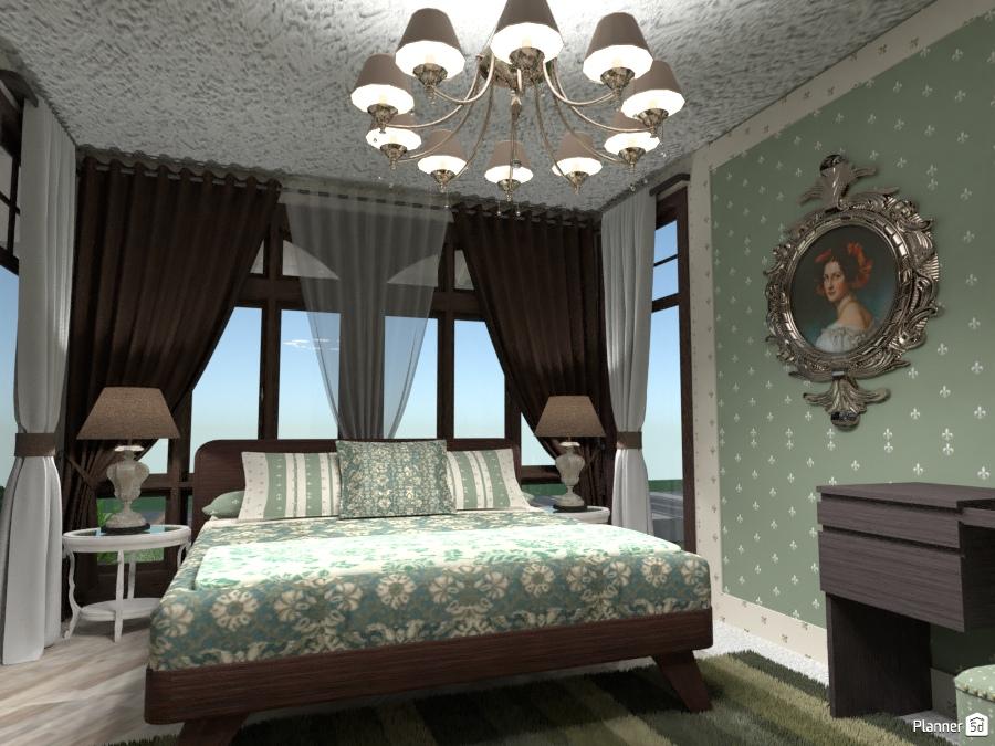 Camera da letto - Idee per le decorazioni - Planner 5D