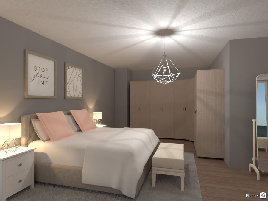 POSH Bedroom theme 3884303 by EMG Builds image