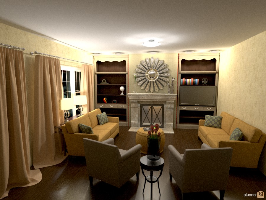 living room 704728 by Trevor McGee image