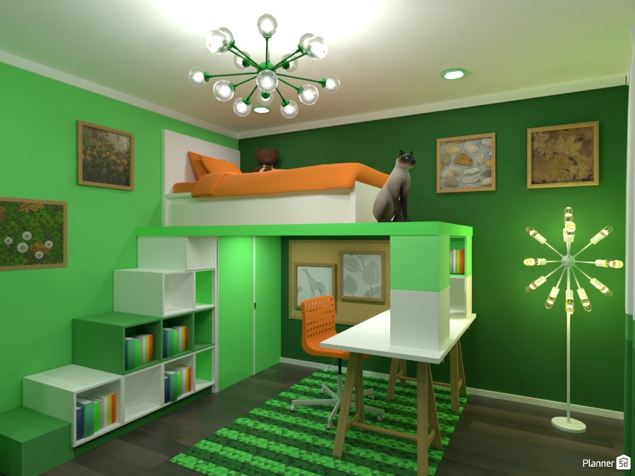 Contest: green bedroom I 3672514 by Elena Z image