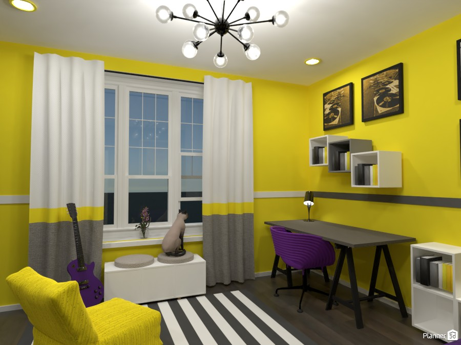 Contest: bedrooms for two sisters II 3672517 by Elena Z image