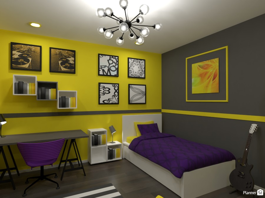 Contest: bedrooms for two sisters III 3672519 by Elena Z image