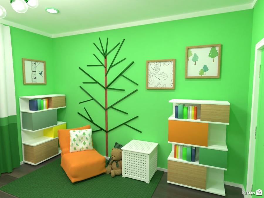 Contest: green bedroom II 3672524 by Elena Z image