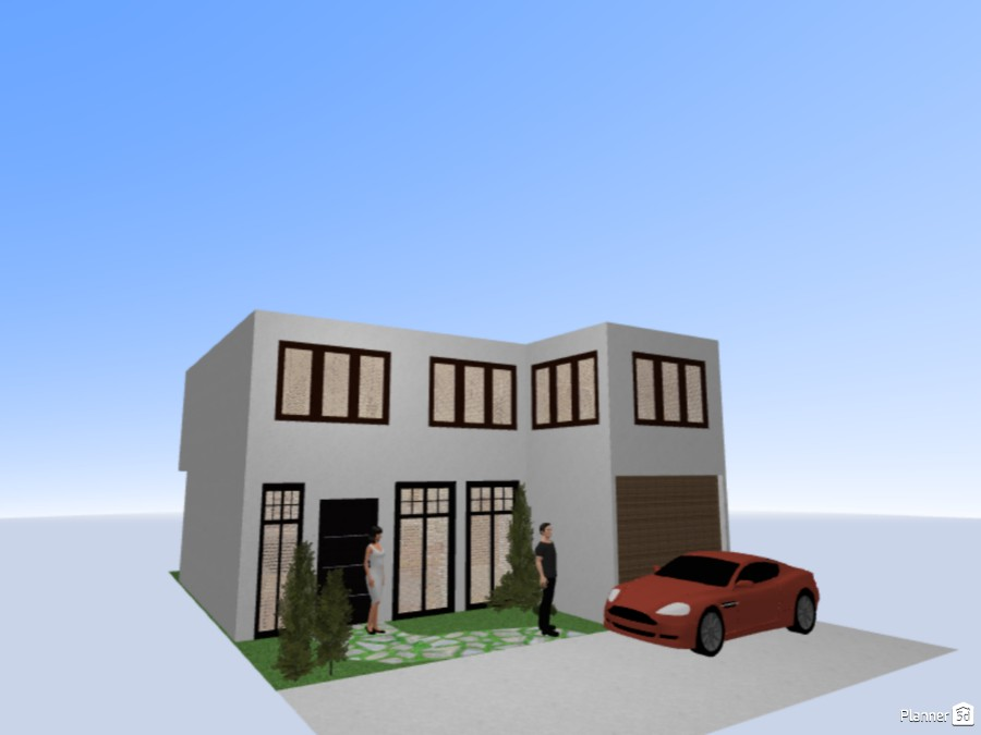 2-Storey Residential Concept 74677 by Louie Dionela image