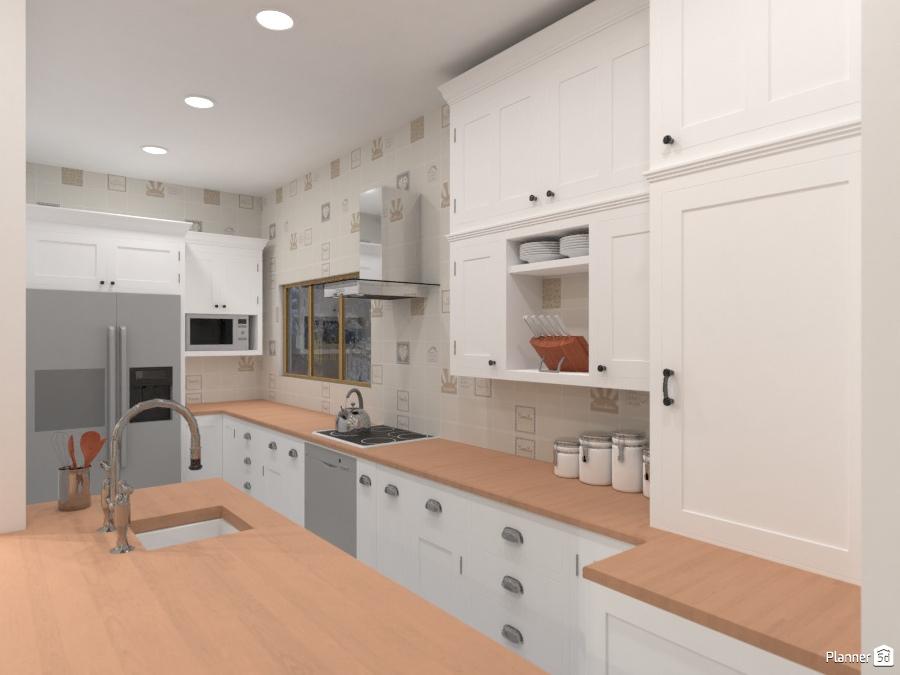 Open concept - Idee per appartamenti - Planner 5D