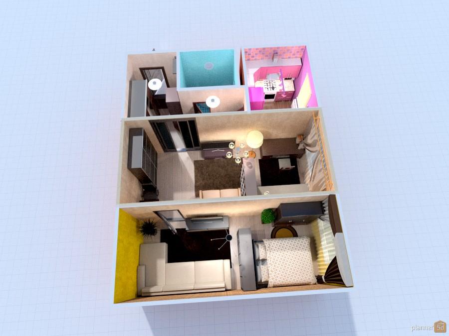 Расстановка мебели в квартире 1118806 by Ira1985 image