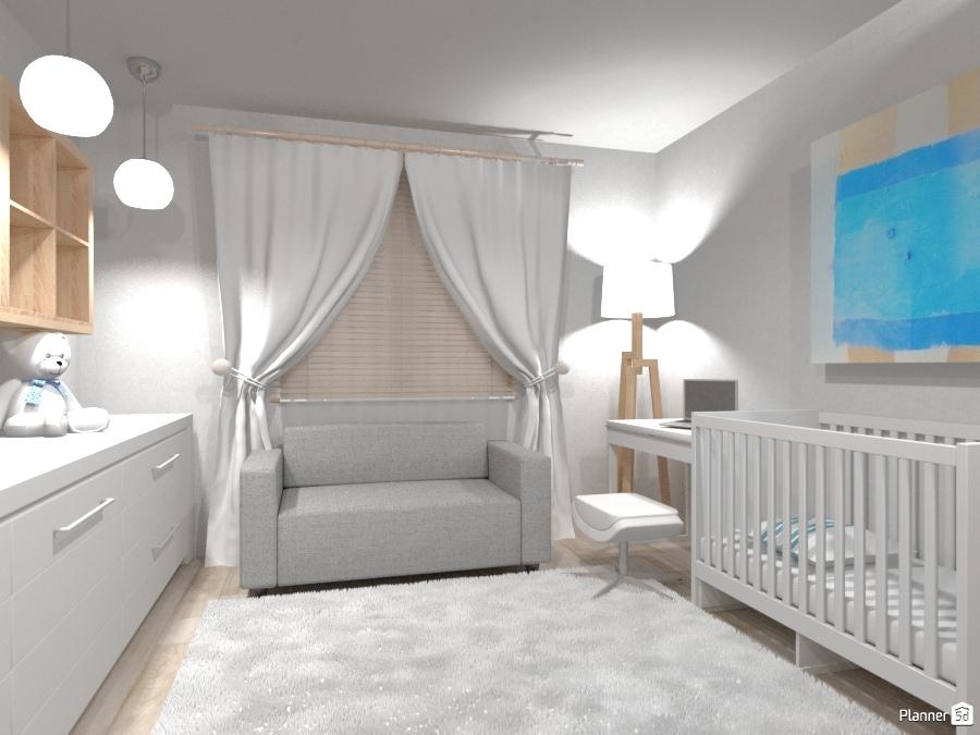 Workshop transformed into a cozy nursery ... ) ) ) - Apartment ideas ...