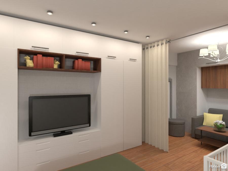Проект однокомнатной квартиры 72306 by Татьяна Максимова image