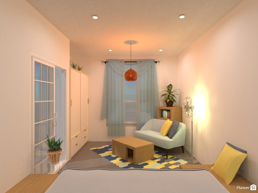 Cozy bedroom: resting area 4320701 by Gabes image