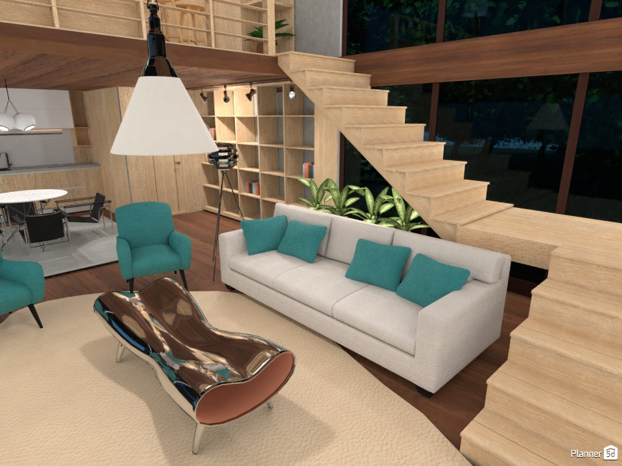 Cozy Living Room 2581490 by Thierry image