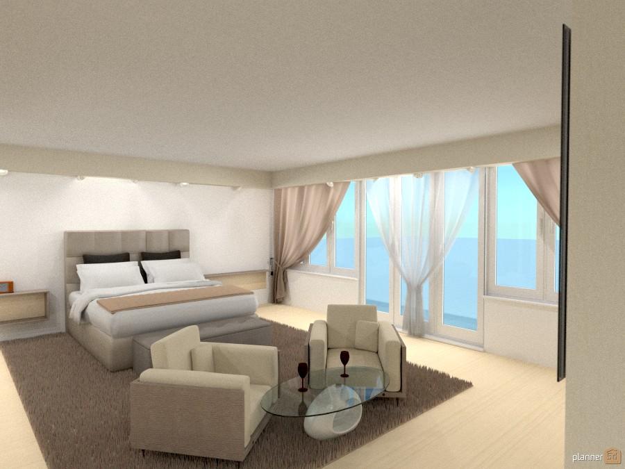 Camera padronale - Apartment ideas - Planner 5D