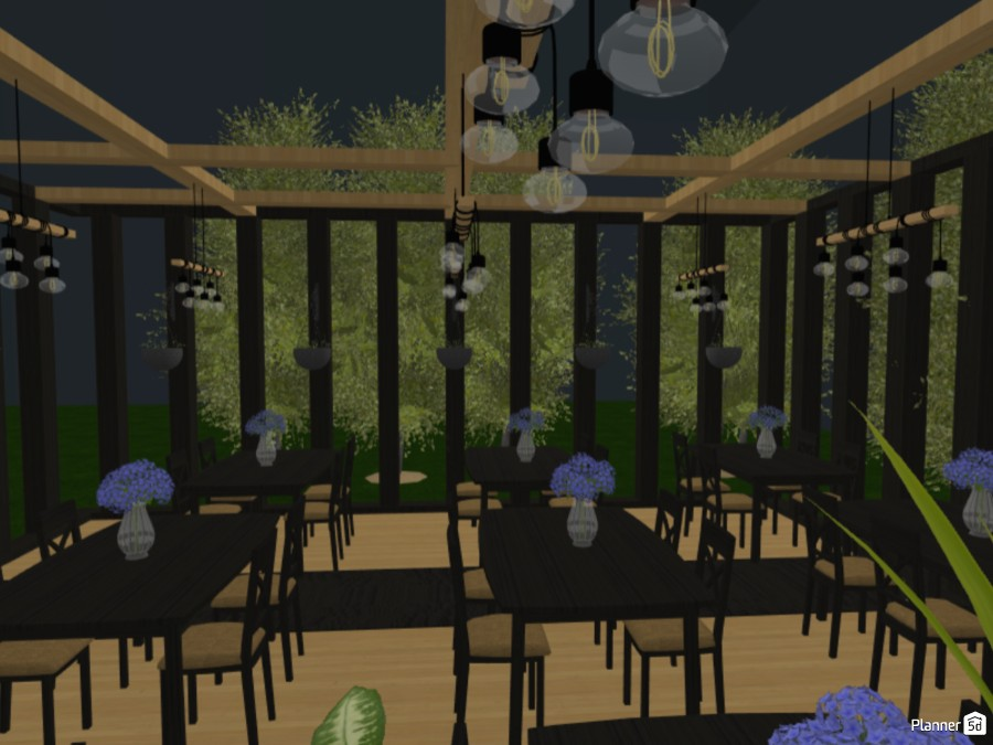 Outdoor dining 81793 by Hubert image