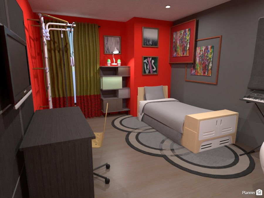 Boy's Bedroom 4048419 by Err... image