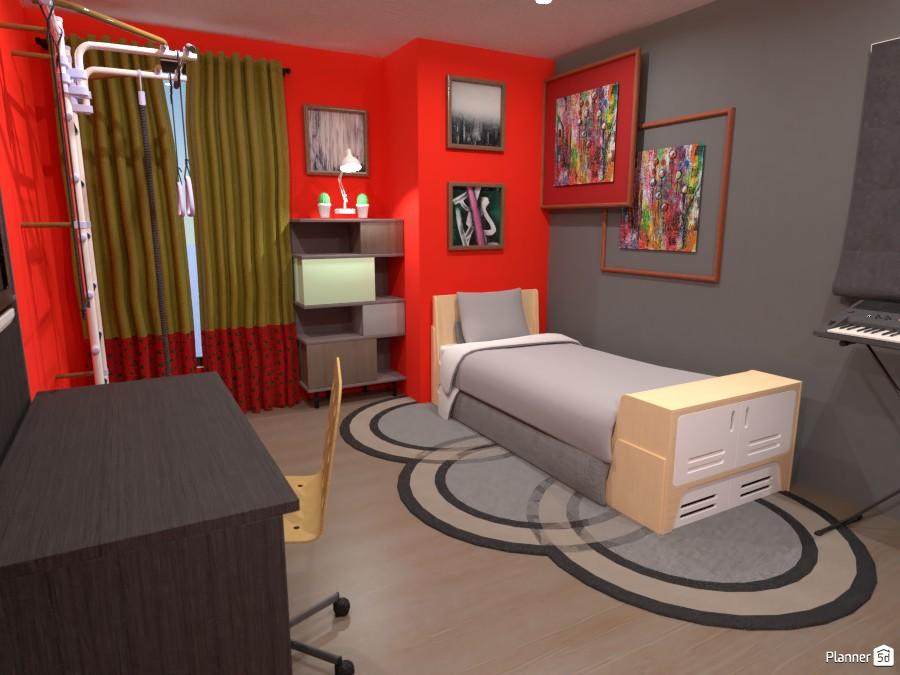 Boy's Bedroom 4048430 by Err... image