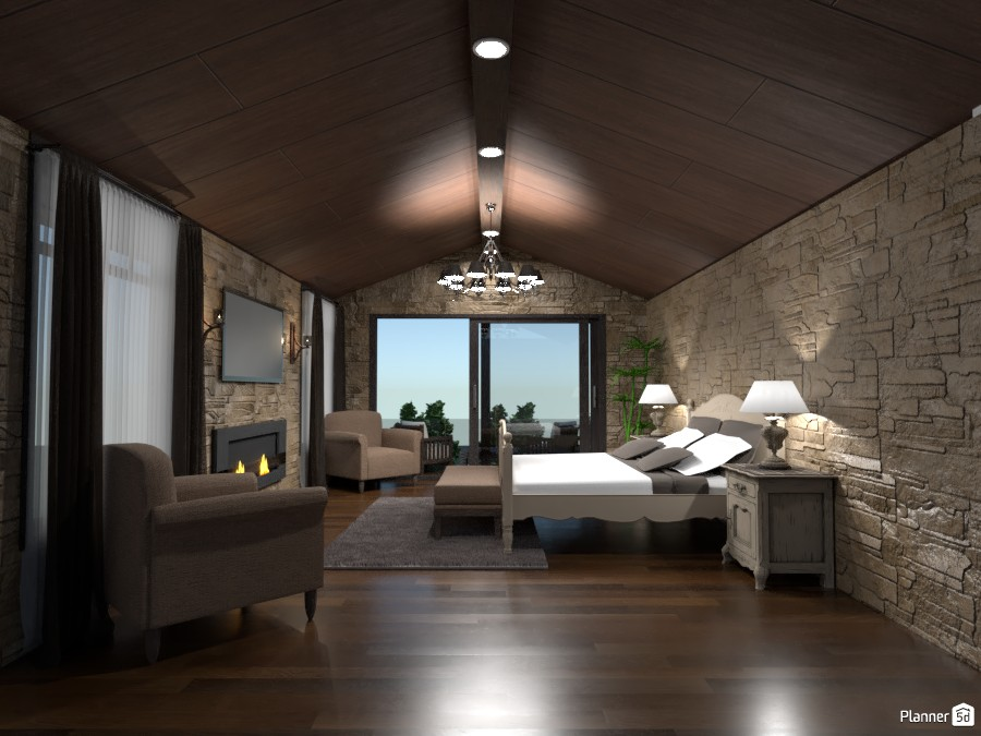 Rustic Bedroom 3246008 by SG Architecture image