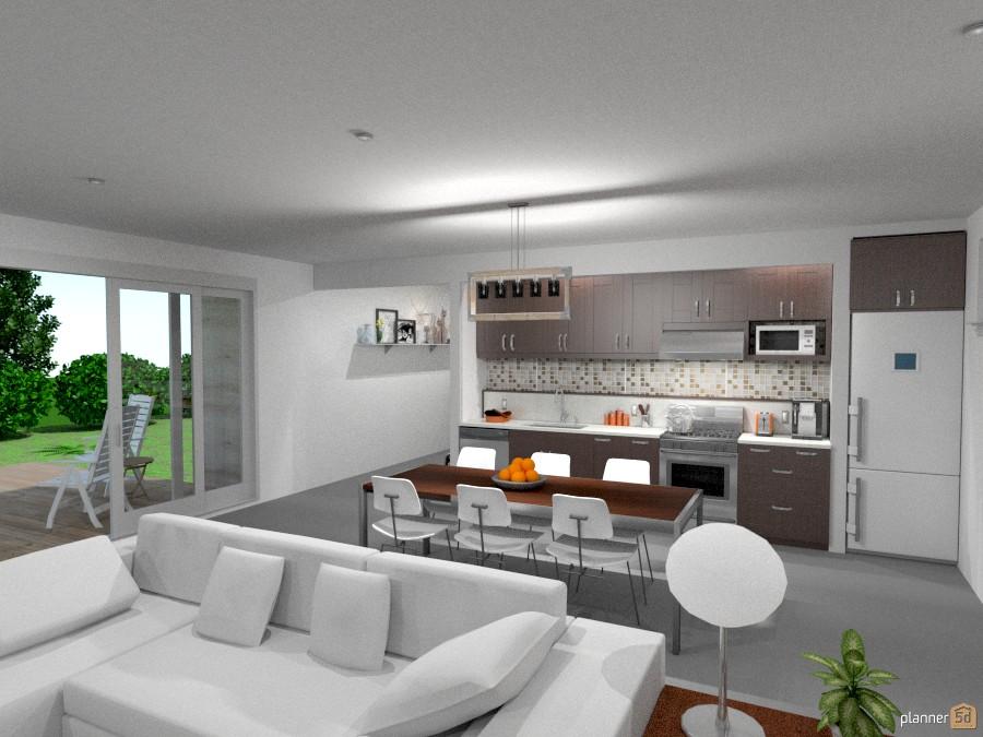 Casa De Campo Moderna Ideas Para Terrazas