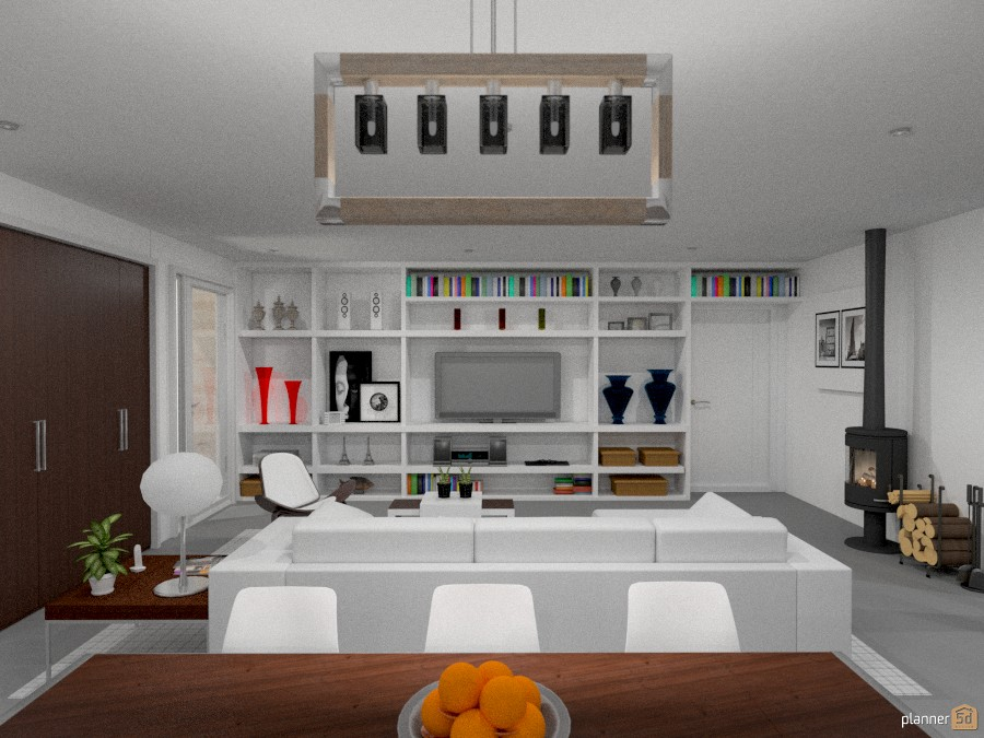 Casa de campo moderna - House ideas - Planner 5D