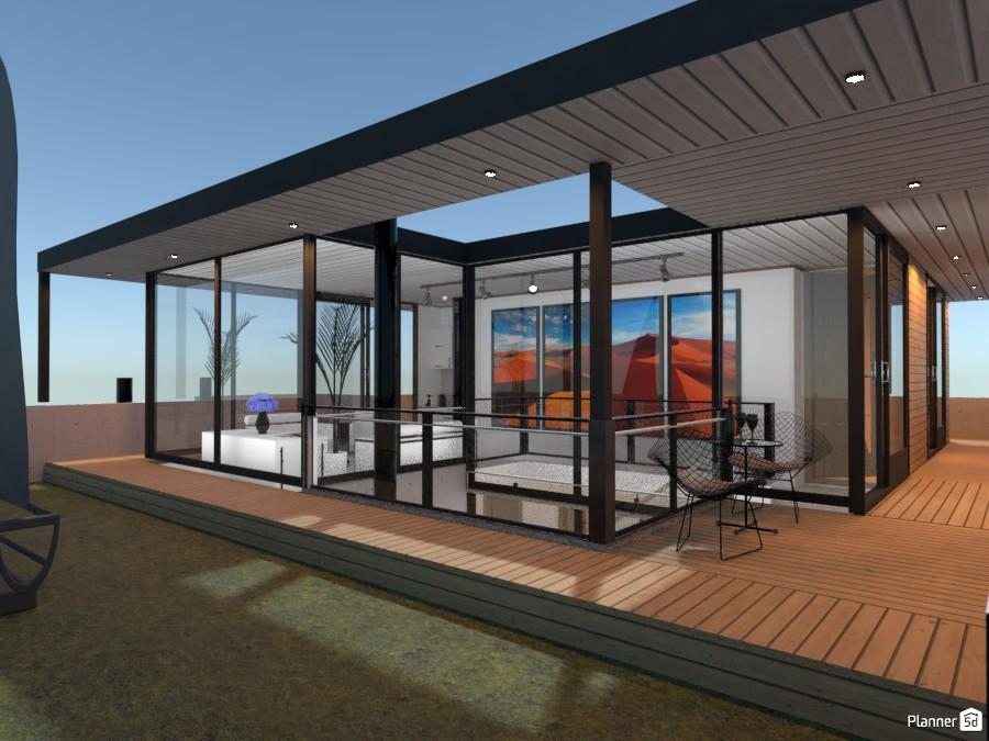 Energy efficient house, sky-lounge 4049586 by derick le roux image