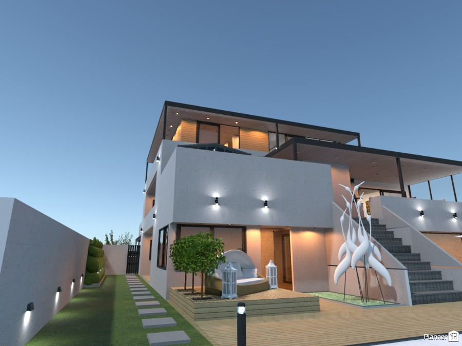 Energy efficient house outdoor 4056492 by derick le roux image