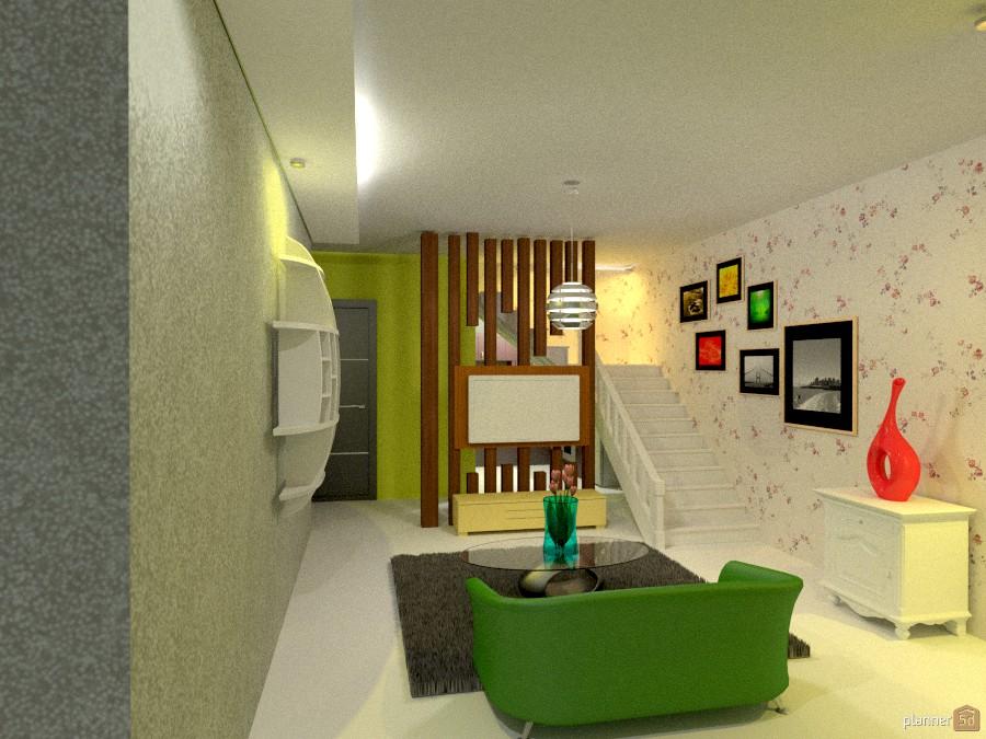 Ruang Keluarga House Ideas Planner 5d